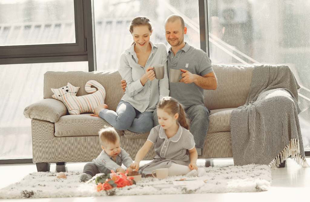 Famille heureuse - Programme Shoryuken