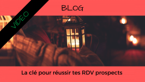 Article Blog Consigliere - Christian Monteiro - La clé pour conditionner tes RDV prospects
