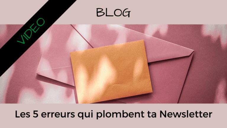 Article Blog Consigliere - Christian Monteiro - Les 5 erreurs qui plombent ta Newsletter