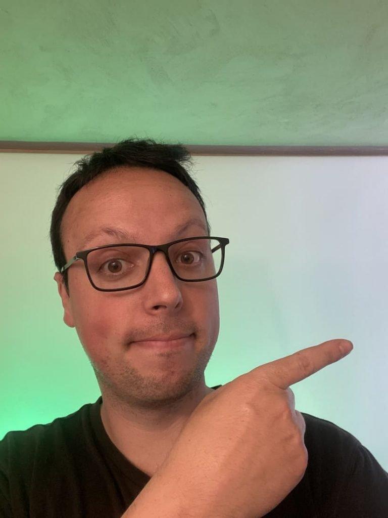 Christian Monteiro - Programme Shoryuken - Finger - Fond vert