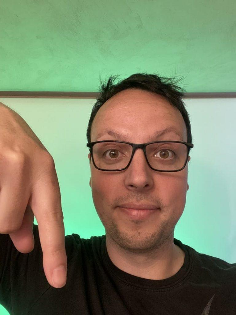 Christian Monteiro - Programme Shoryuken - Finger down - Fond Vert