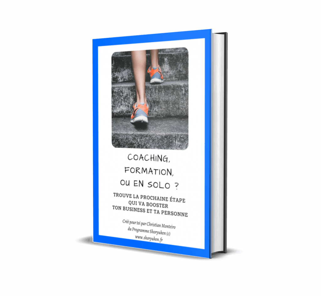 Ebook Gratuit – Coaching, formation ou en solo – Consigliere SAS – Christian Monteiro