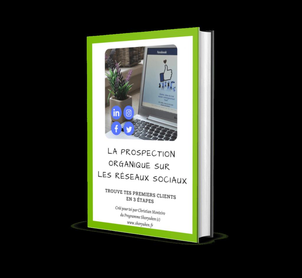 Ebook Gratuit - La prospection organique sur les réseaux sociaux - Consigliere SAS - Christian Monteiro
