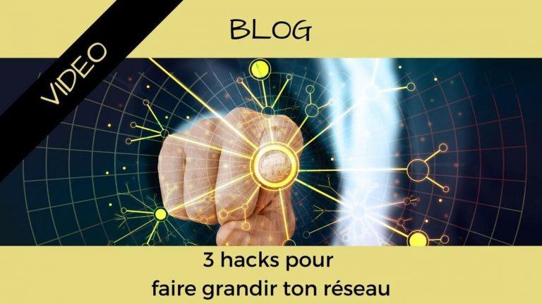 Article – Blog – Consigliere – Christian Monteiro – 3 hacks pour faire grandir ton réseau